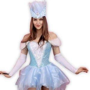 Snow Queen deluxe  Halloween costume